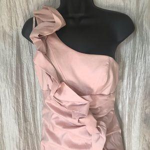 Hailey Logan Dresses - 💜Hailey Logan One Shoulder Mini Dress Sz 9/10💜